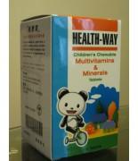 維康寶兒童多種維他命和礦物質-100片